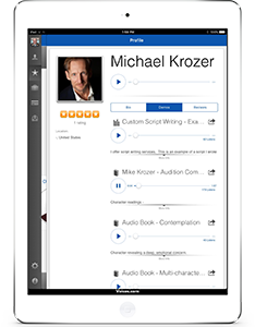 Voices.com iPad App