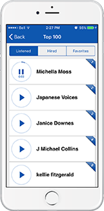 Voices.com iPhone App